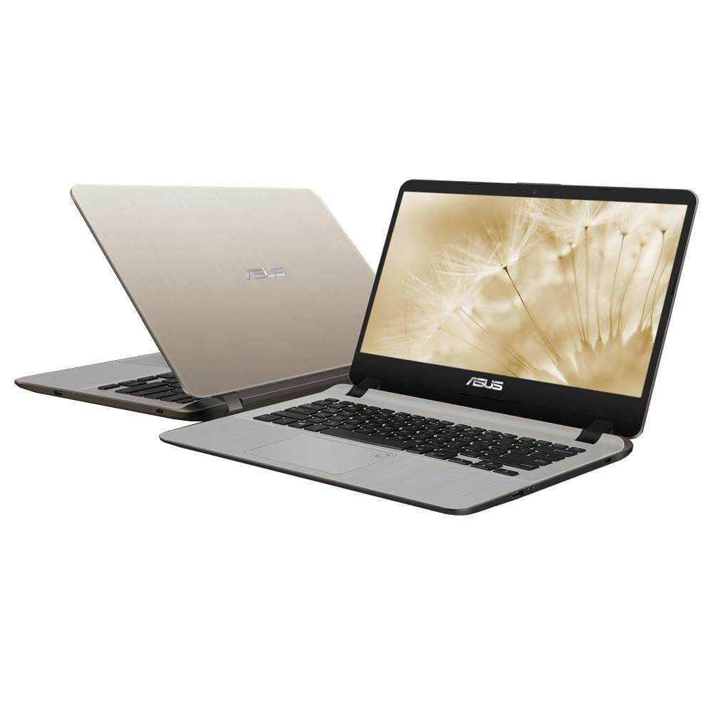 Asus Vivobook A407M-ABV037T 14 Laptop Gold (Celeron N4000, 4GB, 500GB, Intel, W10) Malaysia