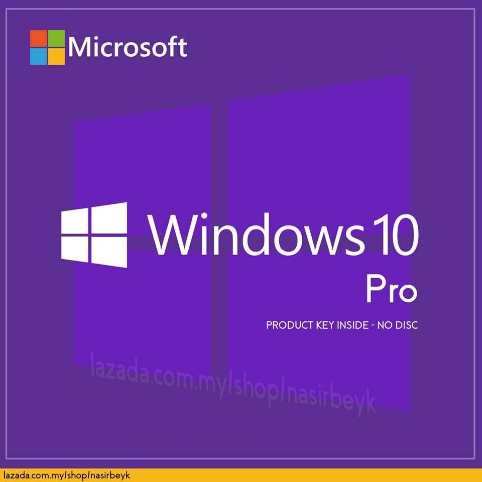 Features Refurbished Windows 10 Pro Oem Coa Sticker Dan Harga Professional Key 32 64bit