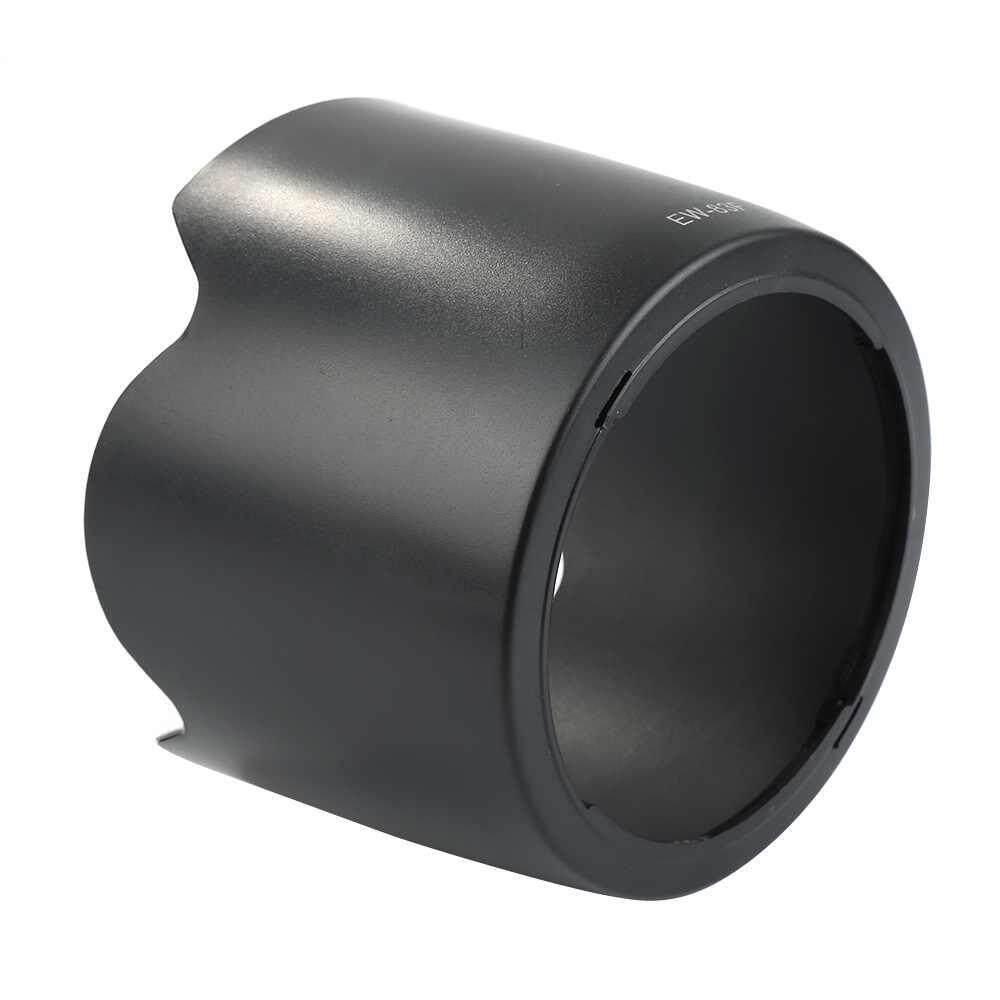 Dxy Kamera Topi Anti Silau Solar Hitam Hood EW-83F untuk Canon 24-70 Mm F/2.8L USM Lensa-Intl