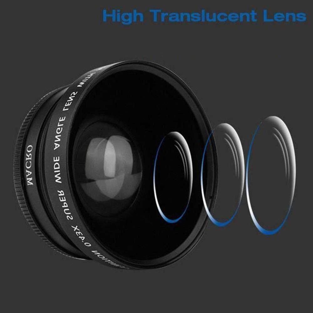Zloyi 72 Mm 0.43X Makro Sudut Lebar Lensa Kamera untuk Semua 72 Mm Perkakas Bertualang Lensa Kamera Ialah-Intl