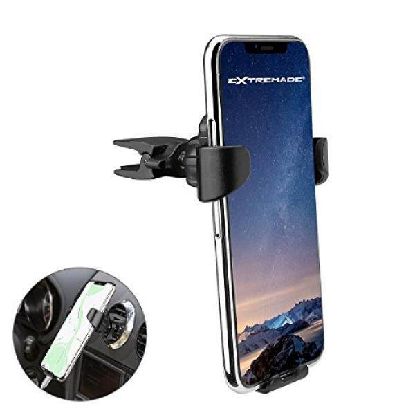 Car Cradles & Mounts Cell Phone Air Vent Mount, Gravity Auto Lock Auto Clamping Smart Phone Car Air Vent Holder Bracket W/Air Vent Brush Duster + 3in1 Cable for iPhone, Samsung, Huawei LG etc Smartphones - intl