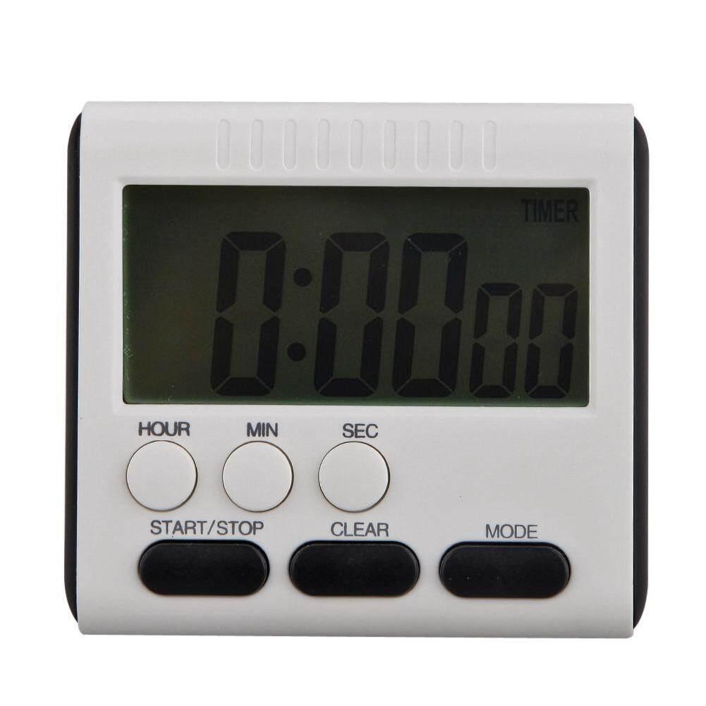 ... Magnetic LCD Besar Pengatur Waktu Dapur Digital Alarm Count Up Down Clock 24 Jam - Intl ...