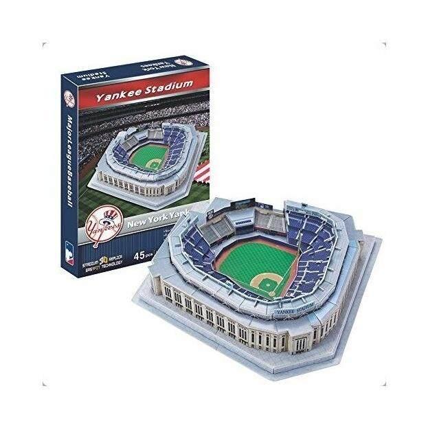 3D Puzzle Model Paper NewYork Yankee Stadium Model Gift Baseball field Fan souvenirs - intl