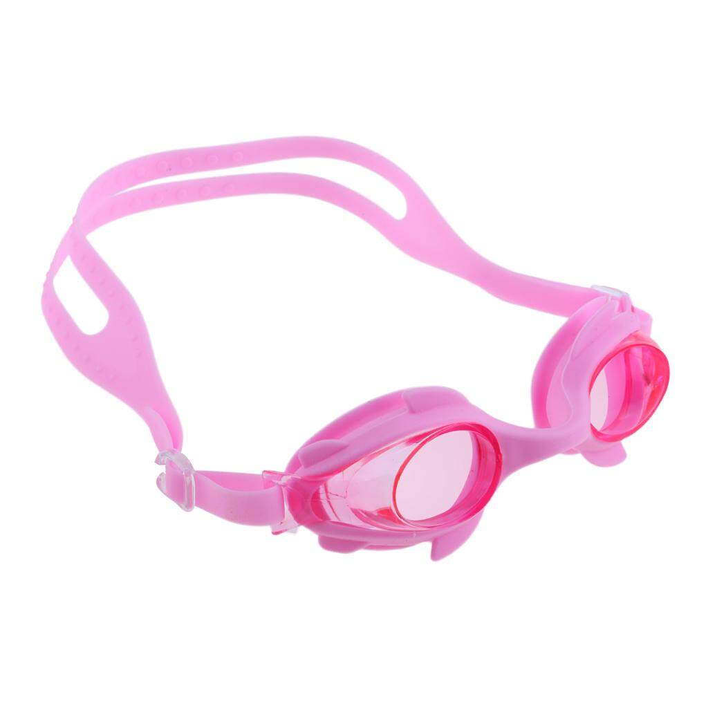 5a26864a53 Flameer Kids Child Anti-Fog Anti-UV Silicone Swimming Goggles Glasses Pink
