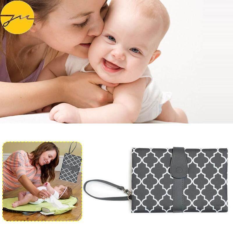 Baby Portable Folding Diaper Changing Pad Waterproof Mat Bag Kit Travel Storage/ By Jingming Store.