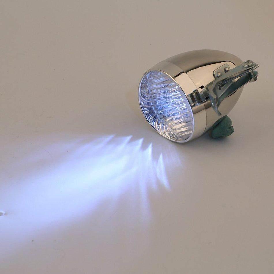 ... RUN2 3 LED Sepeda Motor Sepeda Terang dari Lampu Caya Depan Senter Antik Lampu-Intl