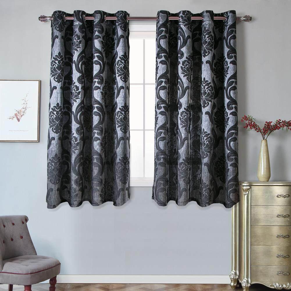 1 PCS 50%-60% blackout curtains Napearl fashion Jacquard Bedroom Windows Curtain