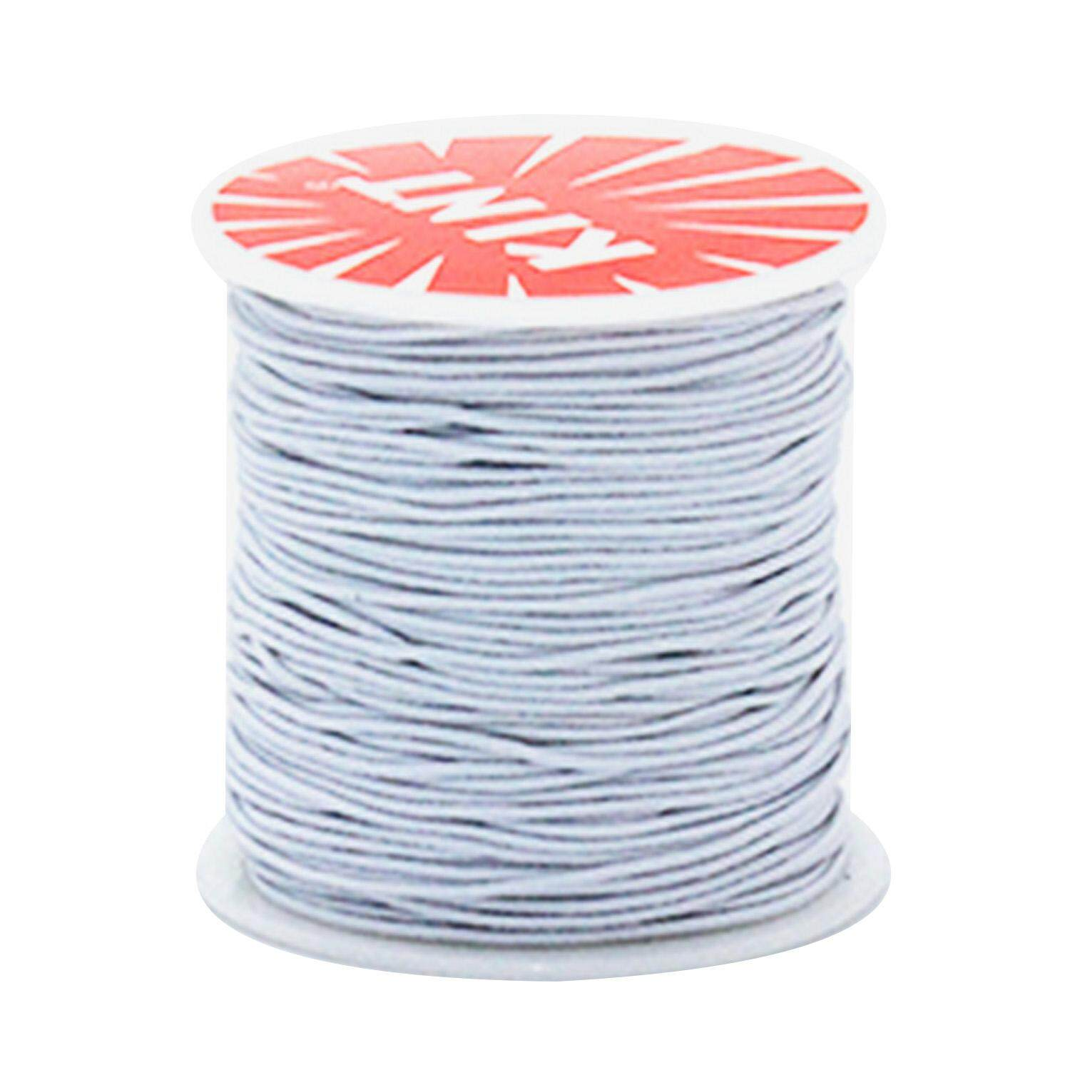1 Roll 0 8mm Thickness Elastic Stretch Beading Thread String Rope Cord for  DIY Craft Jewelry Bracelet Necklace Making 100m