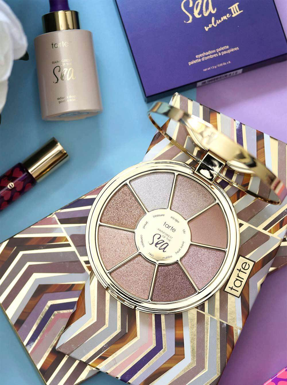 Features Tarte Rainforest Of The Sea Eyeshadow Palette Dan Harga Novo Slider Stick Ombre Colour With Free Gift