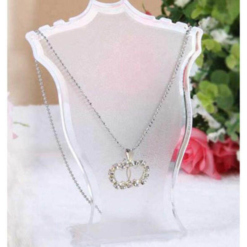Gracekarin Online Kalung Liontin Rantai Anting-Anting Perhiasan Bust Tampilan Pemegang Stan Rak Rak