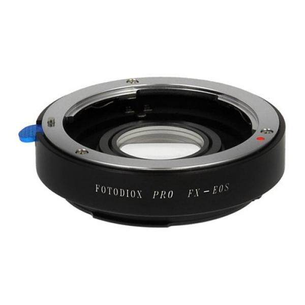 Fotodiox PRO Lens Mount Adapter, 35mm Fuji Fujica X-Mount Lenses to Canon EOS EF Mount DSLR Camera Body for Canon EOS 1D, 1DS, Mark II, III, 5D, Mark II, 7D, 10D, 20D, 30D, 40D, 50D, 60D, Digital Rebel Series, 300D, 350D, 400D, 450D, 500D, 550D - intl
