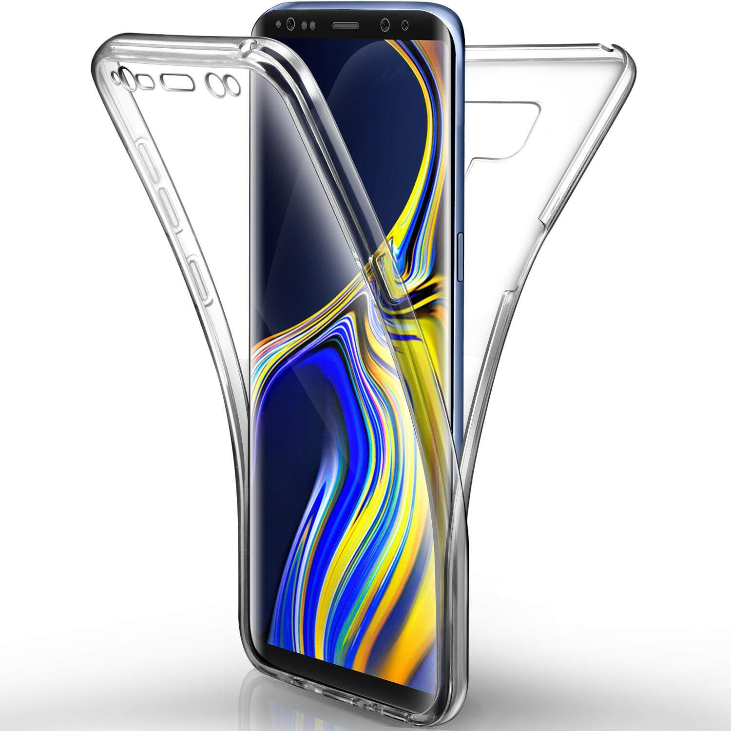 Rymall For Samsung Galaxy Note 9 Case Full Coverage Front and Back Shockproof TPU 360 degree