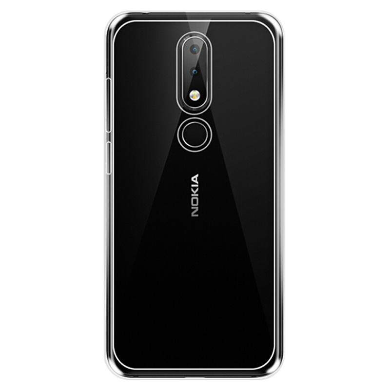 ... Naxtop TPU Ultra-thin Soft Transparent Case for Nokia 6.1 Plus/X6 - 3 ...