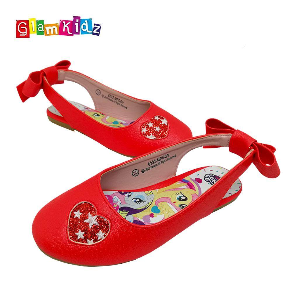 GlamKidz My Little Pony Girls Shoes / Sandals (Red) #6232