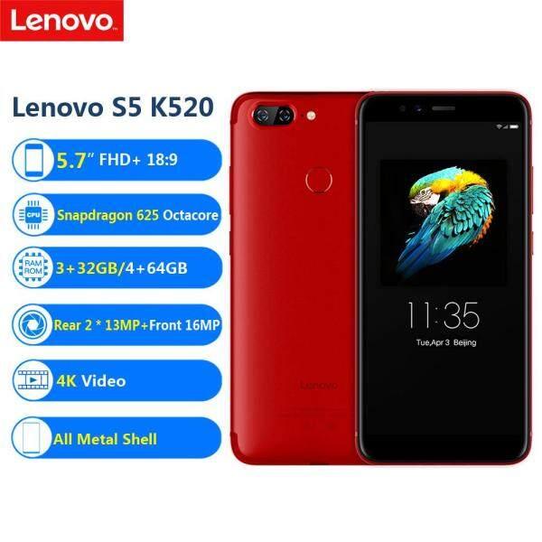 Lenovo S5 K520 Face ID LTE 5.7inch FHD+ 18:9 4G RAM 64G ROM