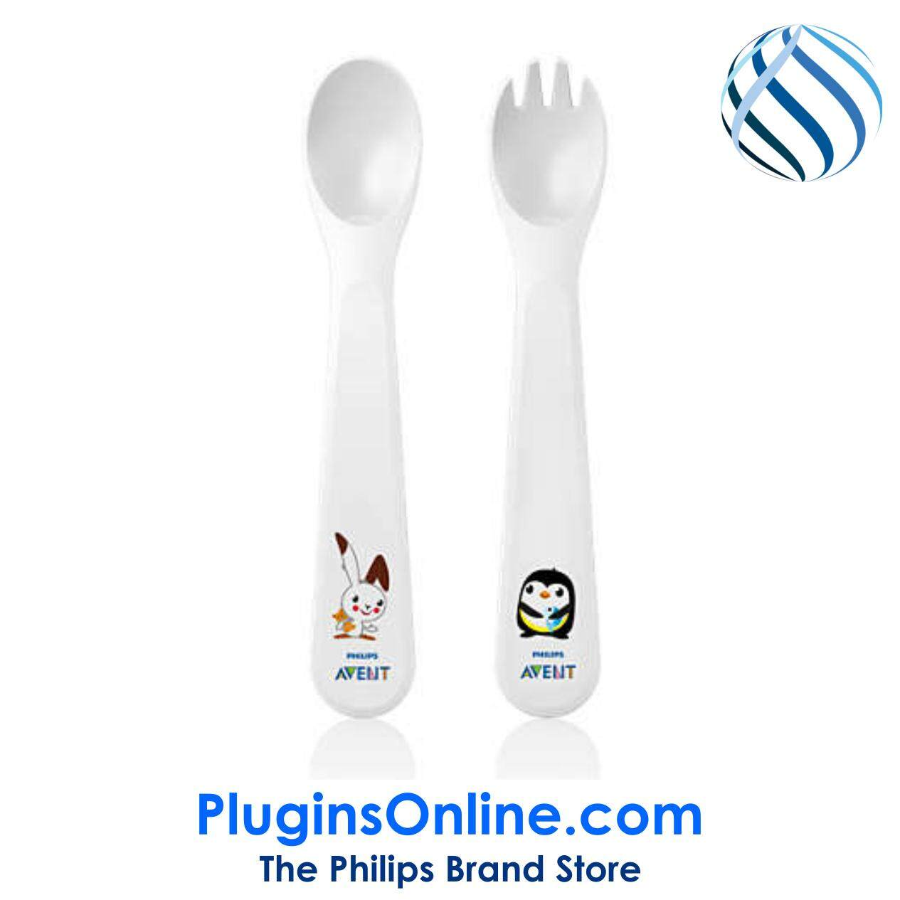 Philips Avent SCF712/00 Fork & Spoon 12m+