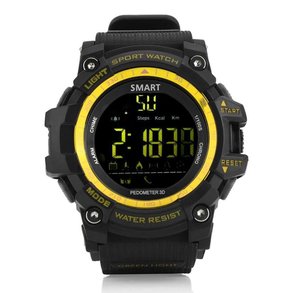 Shanyu 12 Bulan Siaga LCD Aowo Menonton IP67 Stopwatch Pedometer Jam Alarm Jam Tangan Sport Yang Cerdas-Intl