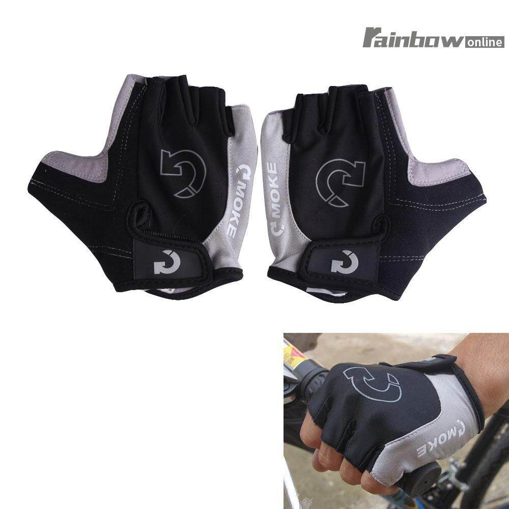 Hình ảnh Cycling Bicycle Motorcycle Sport Gel Half Finger Gloves Size S- XL 3 Colors CVE3 - intl