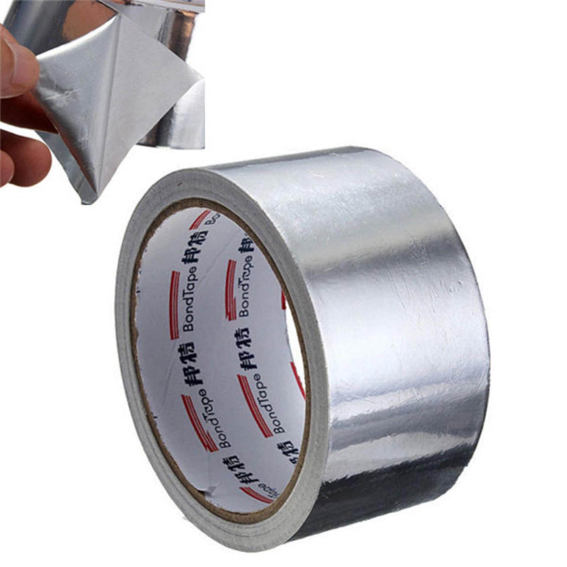 Dragon 5cm*17m Useful Aluminium Foil Adhesive Sealing Tape Thermal Resist Duct Repairs Tape