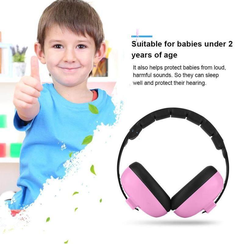 Baby Earmuffs Noise-proof Earmuffs for Children Babys Ear Shield Headphone (Pink)