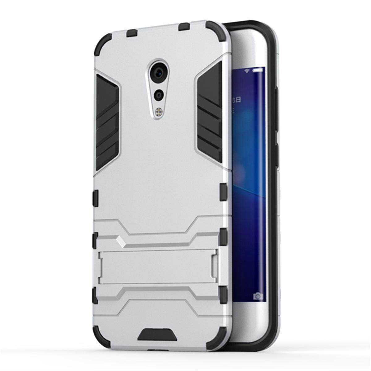 Hình ảnh for Vivo Xplay6 Case 2in1 PC+TPU Hybrid Slim Back Case Ultra Thin Armor Cover, with Kickstand Holder, Glossy, Minimalist, Casual