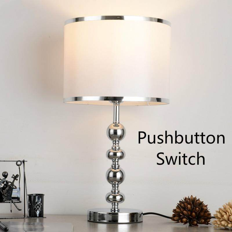 European-style LED Table Lamp Intelligent Remote Control Adjustable Light Energy Saving Light Bedroom Bedside Lamp Modern Simple Creative Decorative Lights H52cm * W27cm - intl