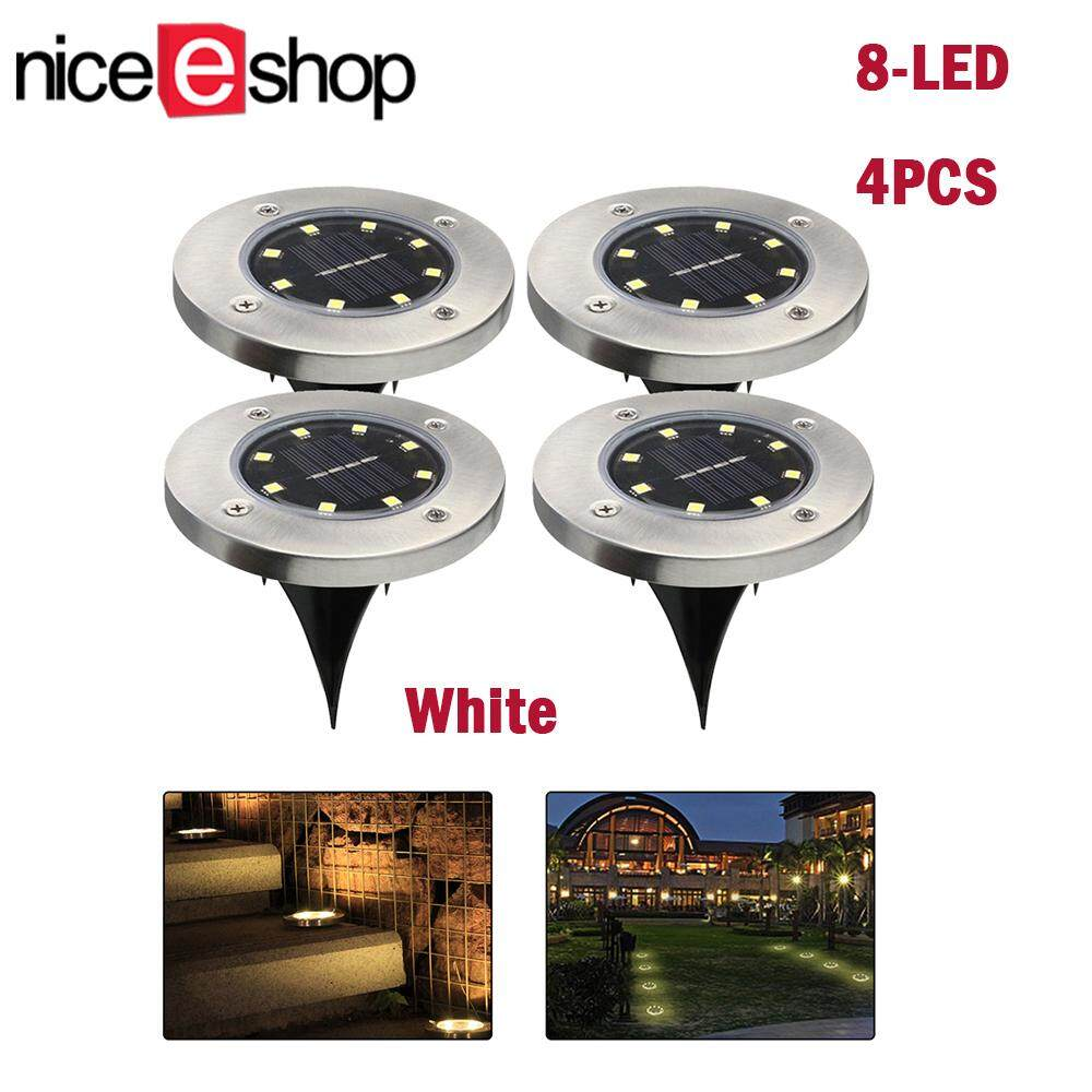 Home Outdoor Lighting Buy At Best Price In Wiring Lamp Posts Niceeshop Solar Path Lights Powered Ground Waterproof Led