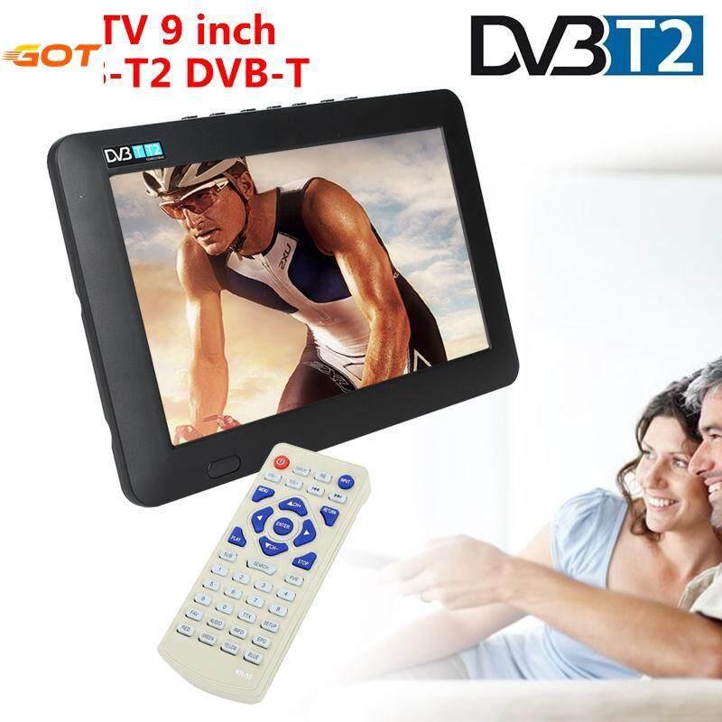 Got It Digital Analog Tv 9 Inch W/remote Control Portable By Got It.