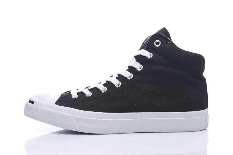 Discount! Hot Sale 2018 Unisex Convers Jack Purcell 16AW High Top Women's and Men's Sneakers Canvas Casual Shoes Color: Black/White - intl