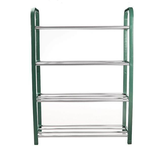 4 Layers Door Hanging Shelf Display Shoe Storage Organizer Portable Holder Rack