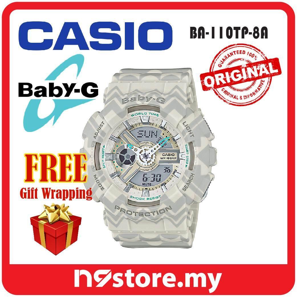 Casio Baby-G BA-110TP-8A Analog Digital Ladies Sports Watch