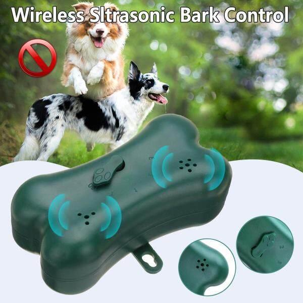 Kiểm soát vỏ cây siêu âm không dây chó chống nước chống sủa đẩy lùi Máy Phát-