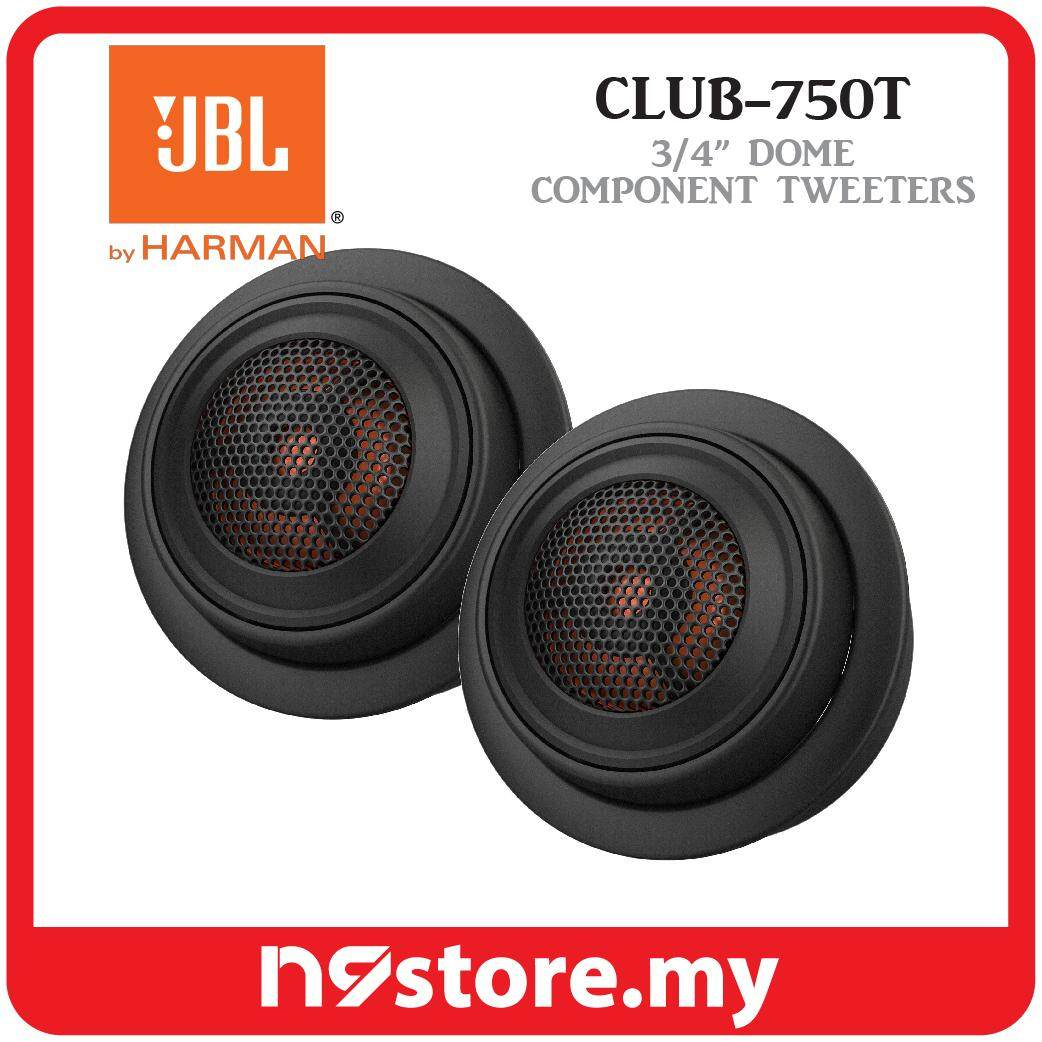 """JBL Club 750T 3/4"""" Component Tweeters 3 Ohm 90 Watts RMS Car Spearker Stereo"""