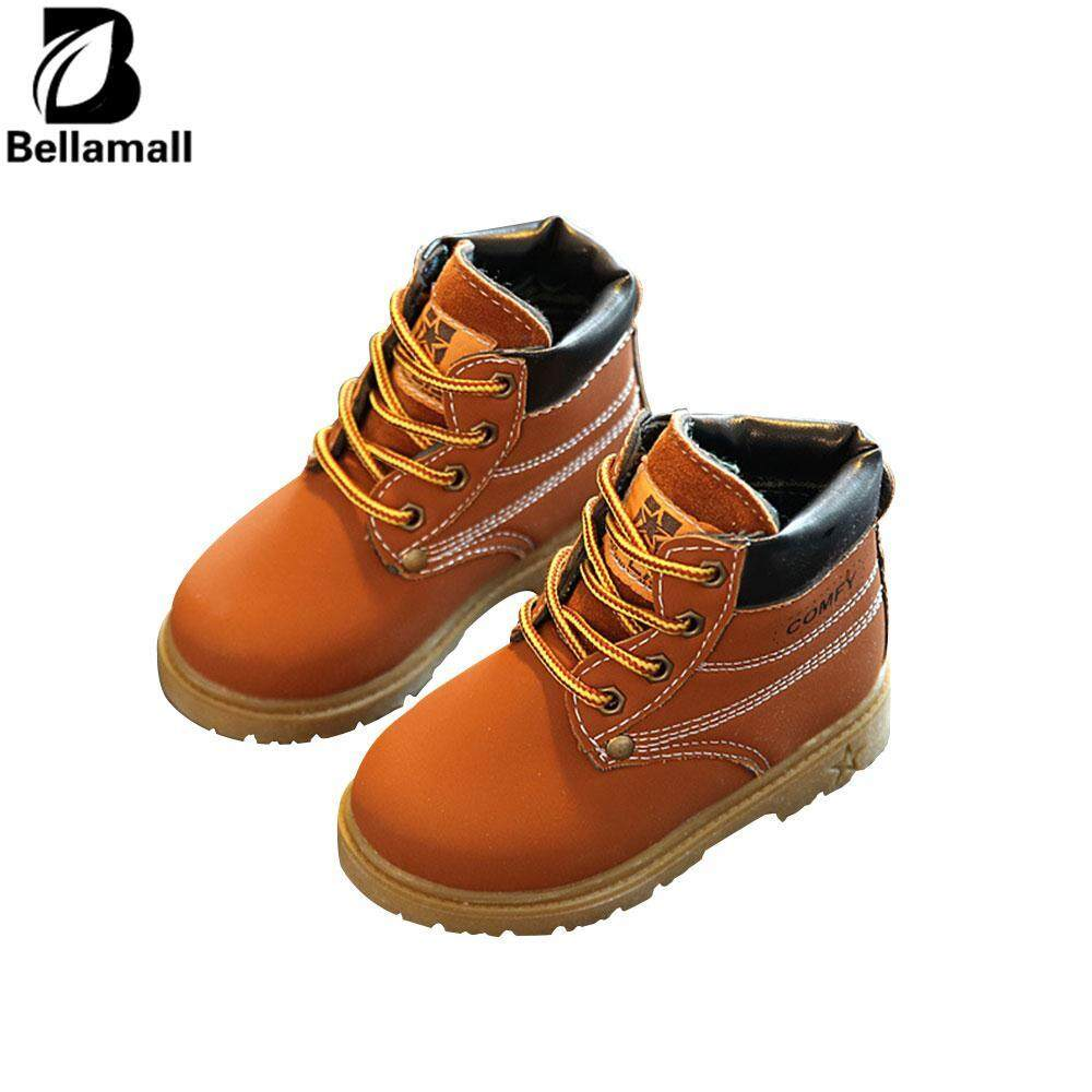 Bellamall:Comfortable Fit Children's Clothes Casual Warm Martin Boots Snow Boots Shoes For Children Kids