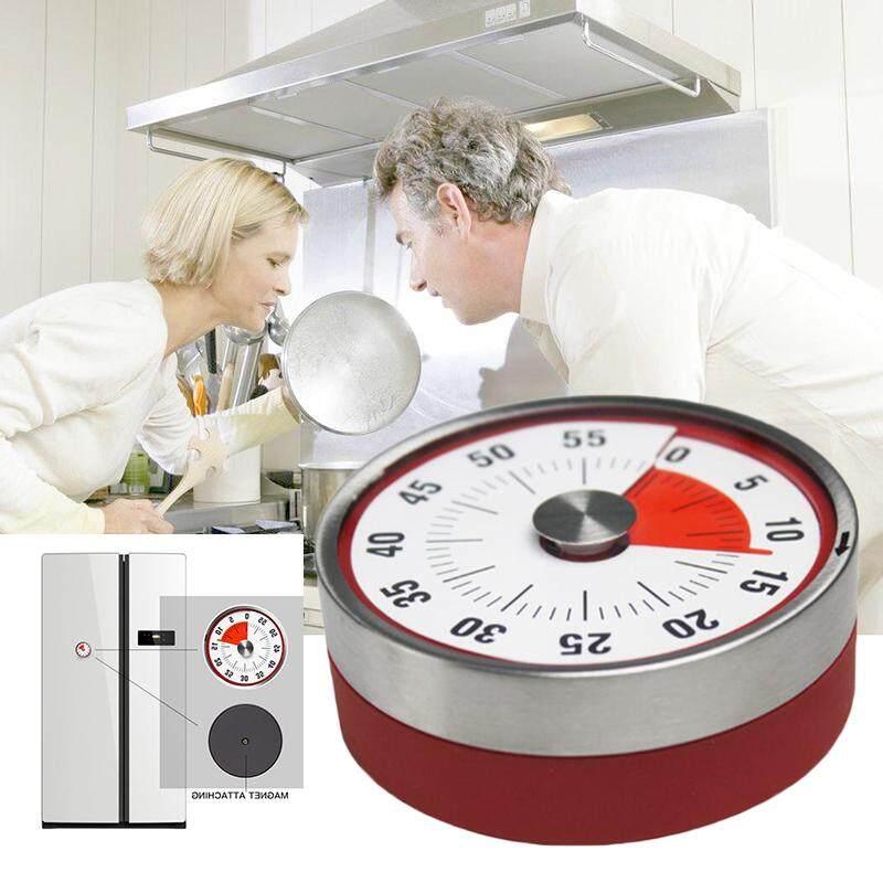 mingrui Kitchen Countdown Timer Alarm 60 Minute Clock Reminder Stainless Steel
