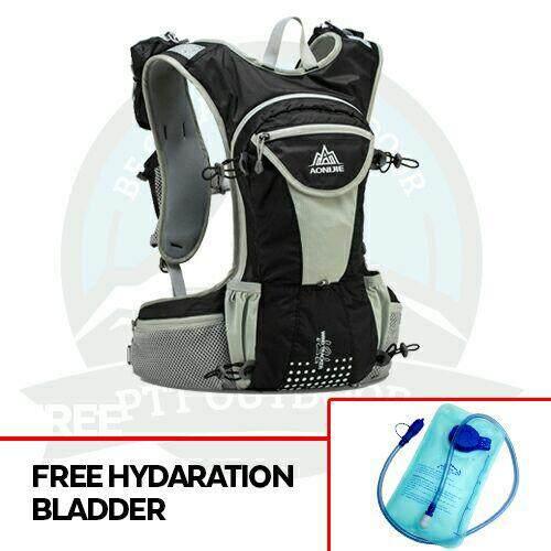 [READY STOCK] AONIJIE 12L HYDRATION BAGPACK HYDRATION BAG - BLACK