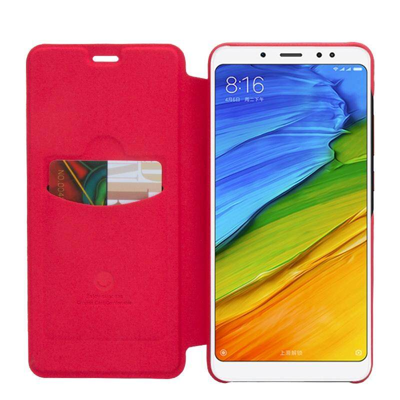 Detail Gambar Lenuo Ledream Series for Xiaomi Redmi Note 5 Pro Litchi Texture Horizontal Flip Protective PU Leather Case with Card Slot(Red) - intl Terbaru