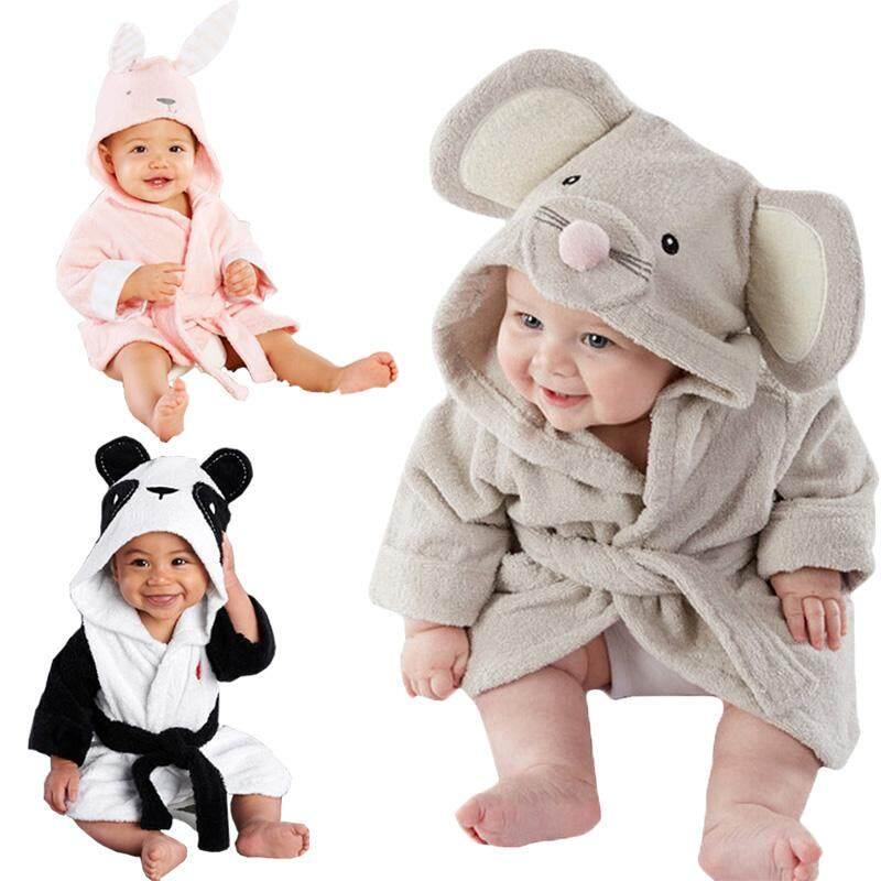 Baru Lahir Hewan Gadis Anak Laki-Laki Jubah Mandi Bayi Handuk Mandi Bertudung Bayi Mandi Selimut By Sugarbabies.