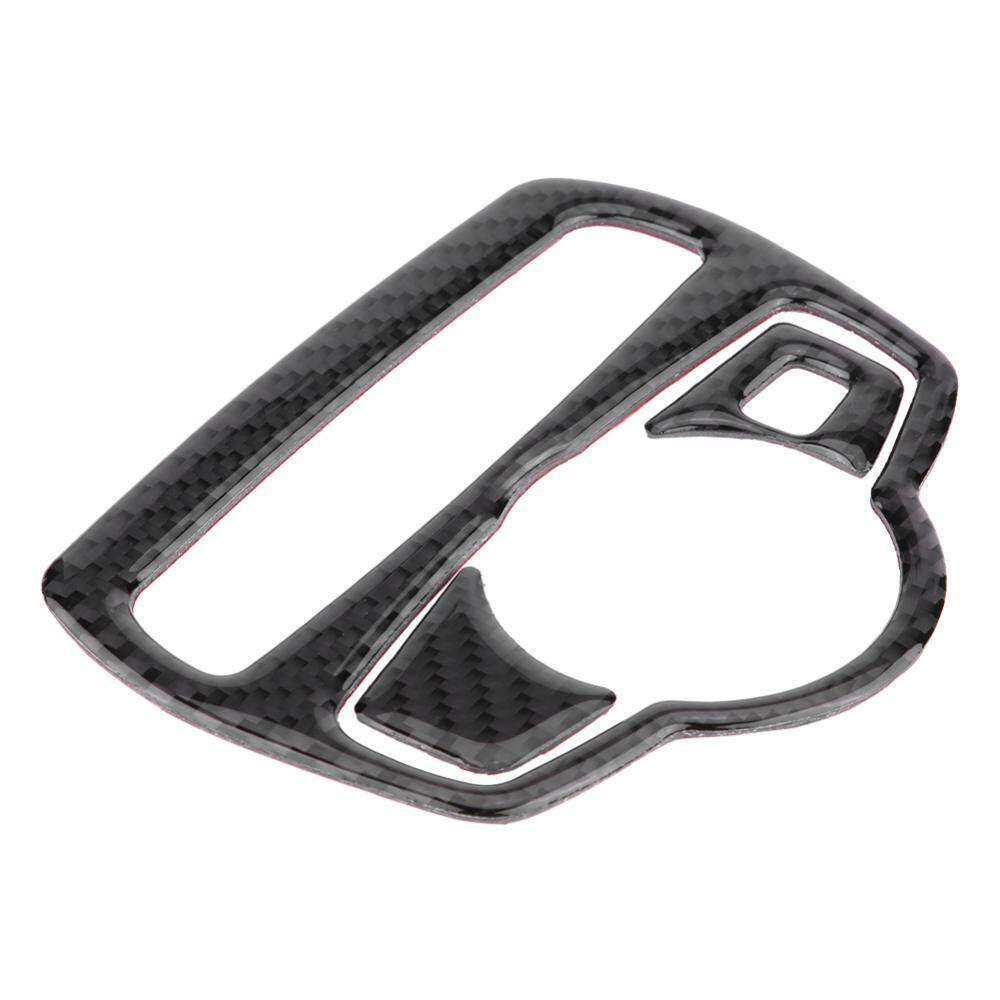 Detail Gambar Duoqiao Carbon Fiber Car Headlight Switch Frame Cover Trim for Mercede s C Class W205 GLC Germany Style Terbaru