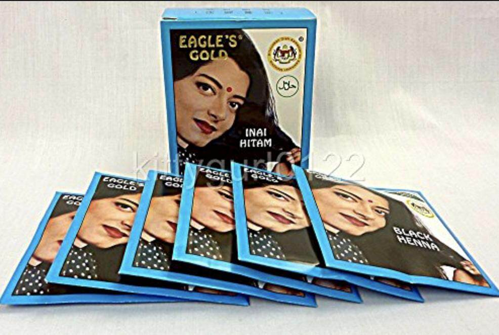 Fitur Eagles Black Henna Hair Dye 6x10g Dan Harga Terbaru Info