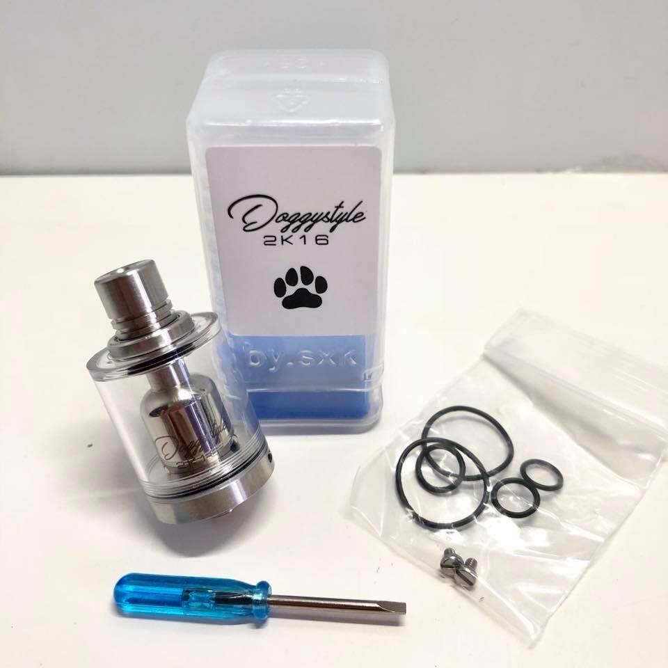 Shop Electronic Cigarettes Atomizers Tanks Buy Diablo Rta Original Sxk Doggystyle 2k16 Creamy Tank