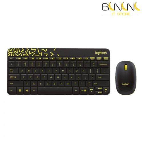 LOGITECH MK240 WIRELESS COMBO KEYBOARD MOUSE - BLACK (920-008202) Malaysia