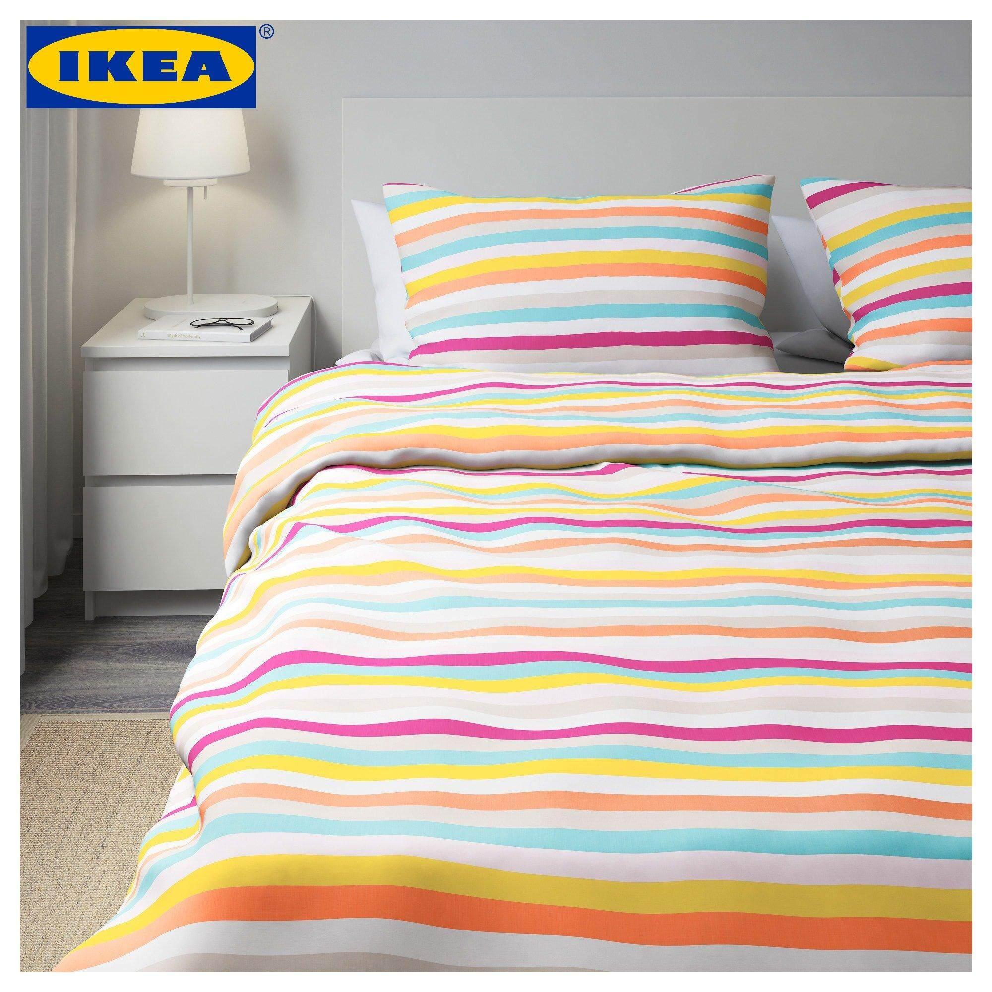 Ikea Yellow Stripe Duvet Cover Sweetgalas