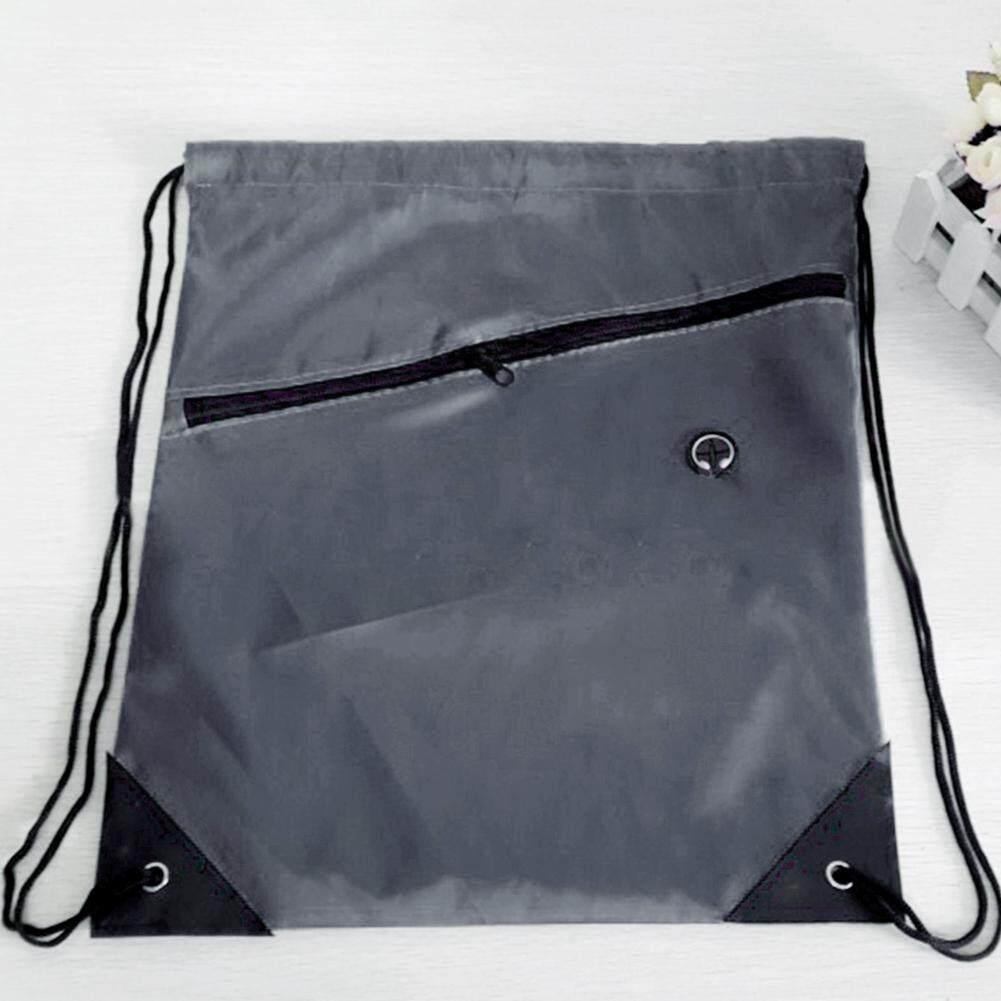 3d003bbeb405 NEW Colorblock Drawstring Backpack Cinch Sack School Tote Gym Bag Sport Pack