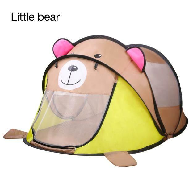 Stok Tersedia Portable Anak Bermain Mainan Tenda Pop-Up Playhouse Mainan Lucu