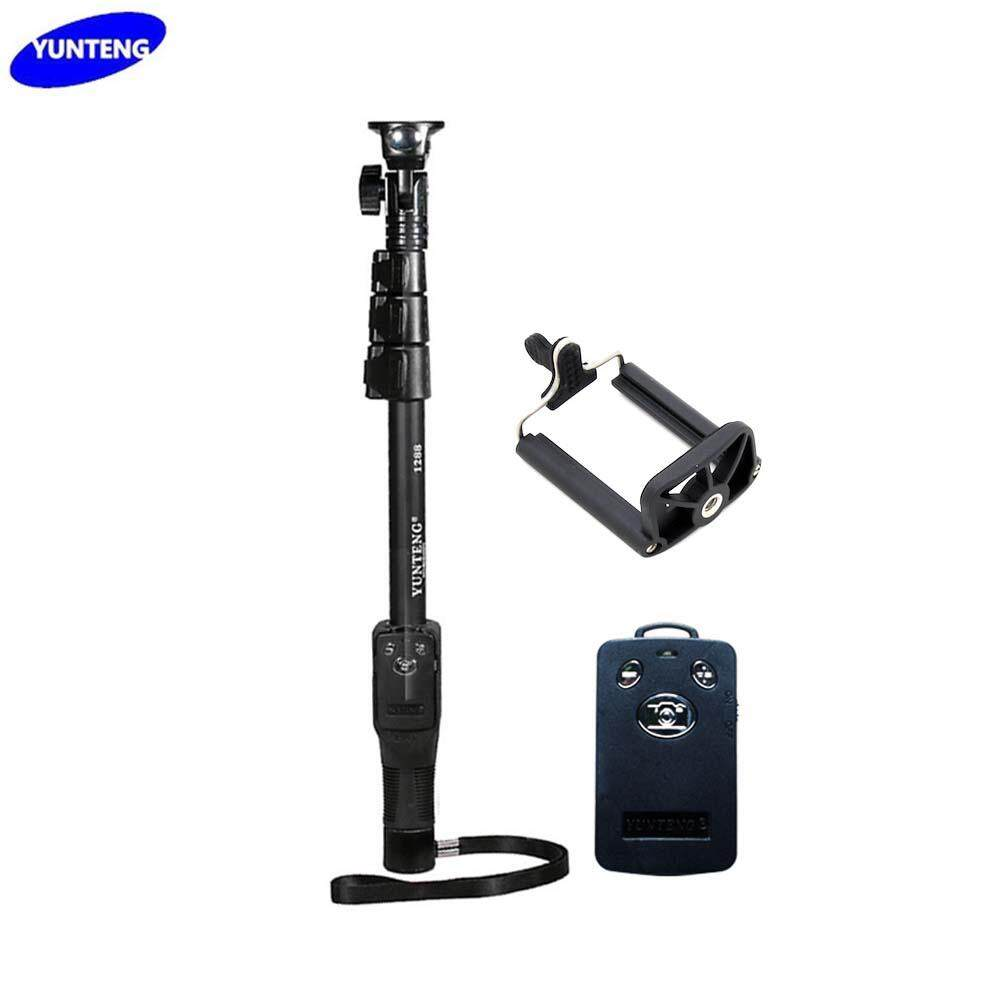 Yunteng YT-1288 Monopod with Bluetooth Control for mobile handphone, action camera and mirrorless camera