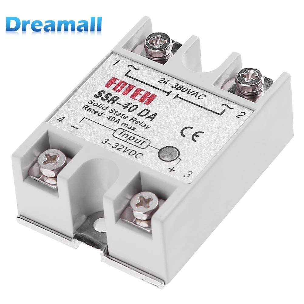 Electric Circuit For Sale Circuitry Prices Brands Review In Breaker Finder Reviews Online Shopping On Single Phase Dc 3 32v To Ac 24 380vac Ssr 40da 40a Solid