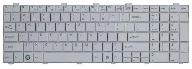 Baru Kami Keyboard untuk Fujitsu Lifebook AH530 AH531 NH751 A530 A531 Hitam/Putih Bahasa Inggris Keyboard Laptop