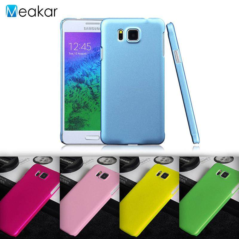 Grind arenaceous Hard Plastic 4.7 Cell Phone Cover Case for Samsung Galaxy Alpha .