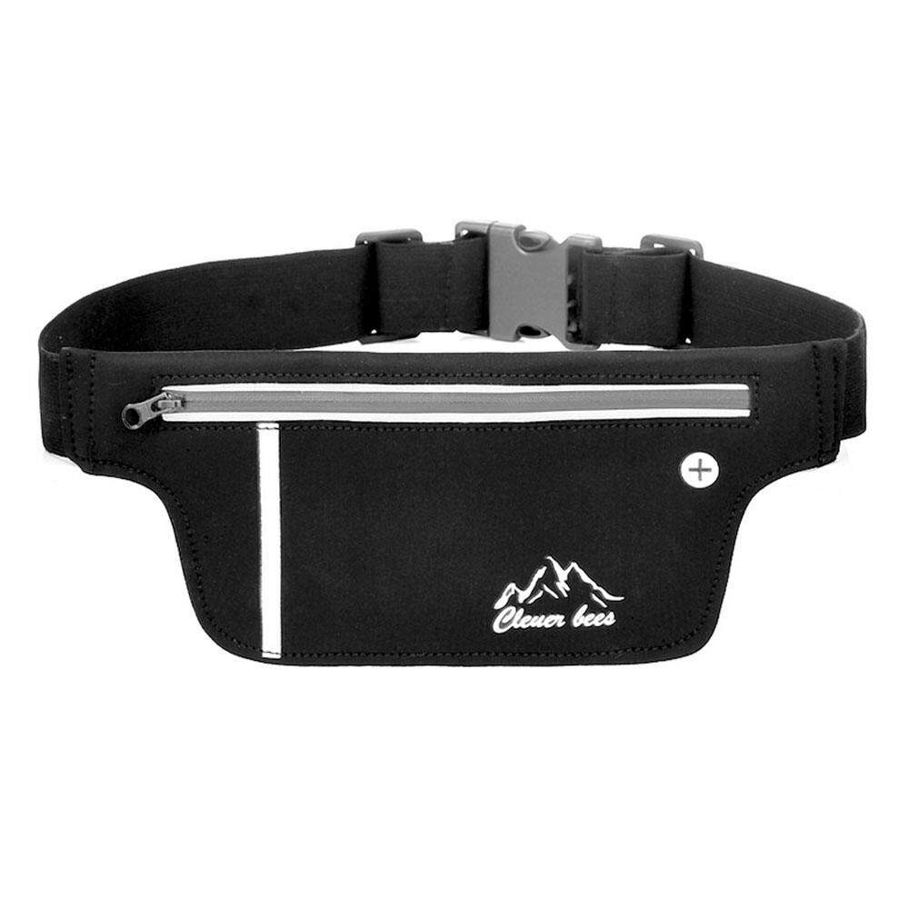 Aolvo Running Belt Zipper Pockets Water Resistant For Running Climbing Cycling Hiking Fitness Waist Pack Phone Holder - Intl By Aolvo.